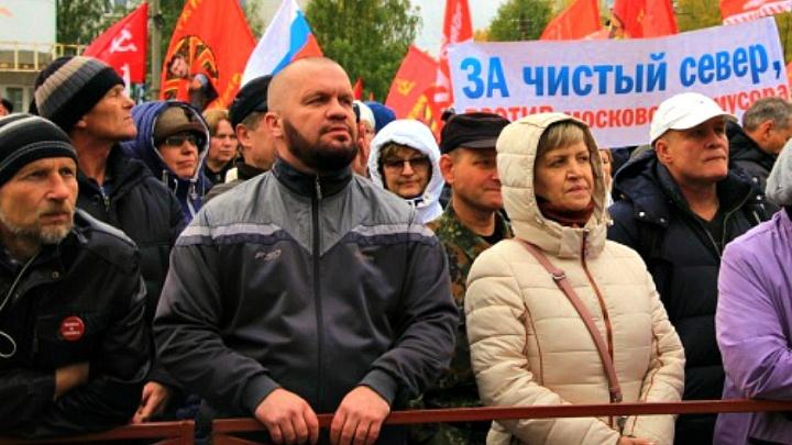 В Архангельске оштрафовали участника апрельского антимусорного митинга Виктора Чекрыгина