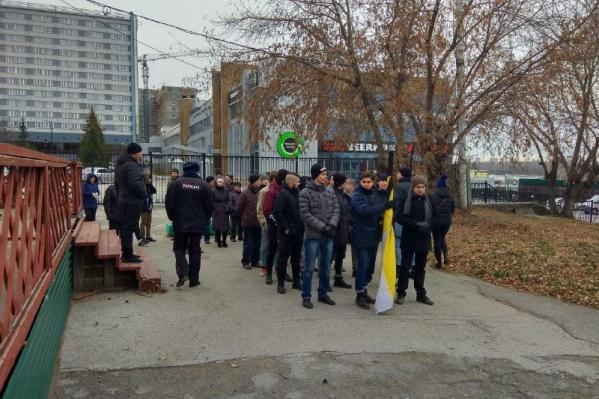 Участники «Русского марша» начали собираться за полчаса до начала шествия