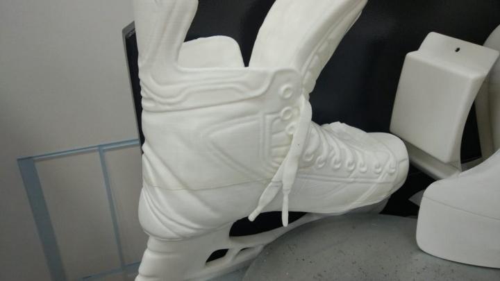 В Екатеринбурге при помощи 3D-принтера изготовили памятник известному хоккеисту