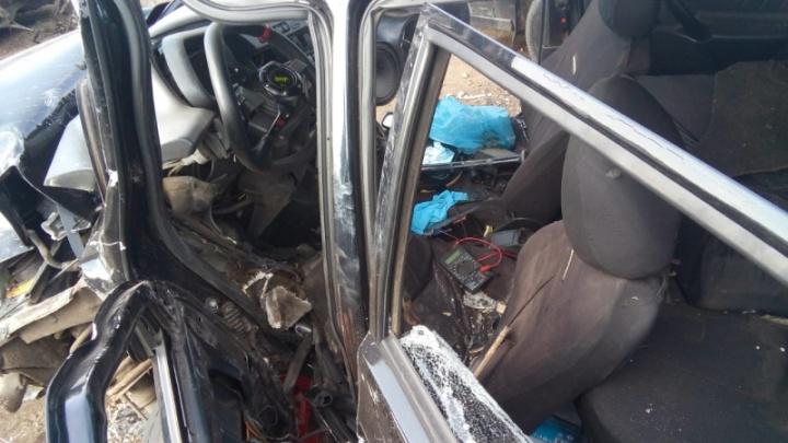 Нашли на штрафстоянке: житель Башкирии украл и разбил чужой автомобиль