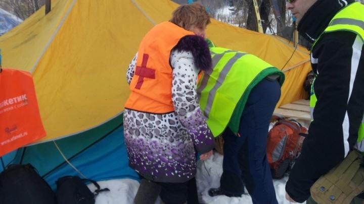 На лыжной трассе в Башкирии пострадала 11-летняя девочка