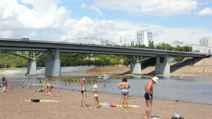 В Уфе отложили открытие пляжного сезона