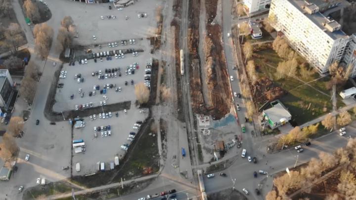 Добрались до Стара-Загоры: реконструкция Ташкентской близится к завершению