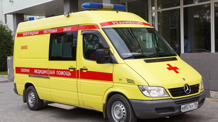 В Волгоградской области трое детей госпитализированы в результате ДТП