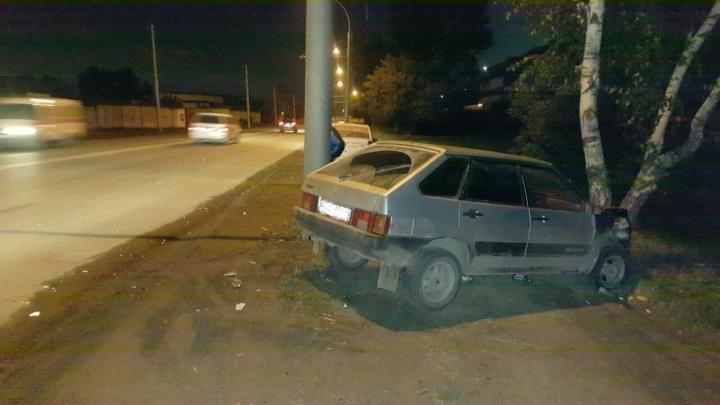 Водитель ВАЗа сбежал после аварии с «Ладой» на 2-й Станционной