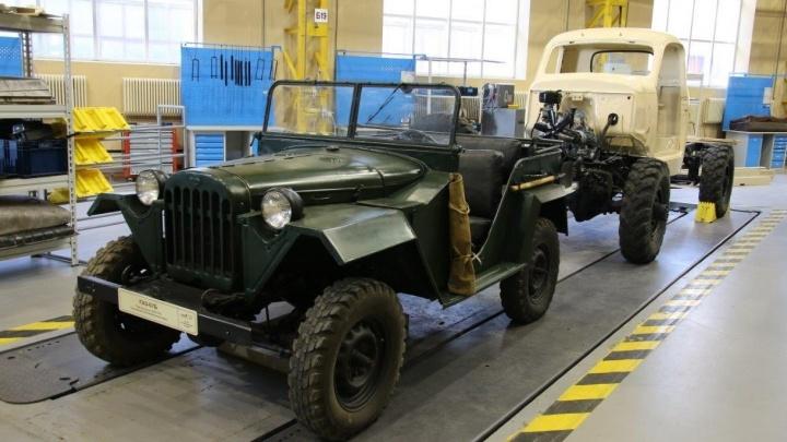 На Урале для музея автомобильной техники восстановили 8 ретромашин: смотрим, как это было