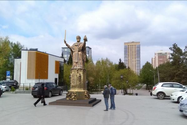 Вблизи Вознесенского кафедрального собора Новосибирска может появиться памятник Николаю Чудотворцу