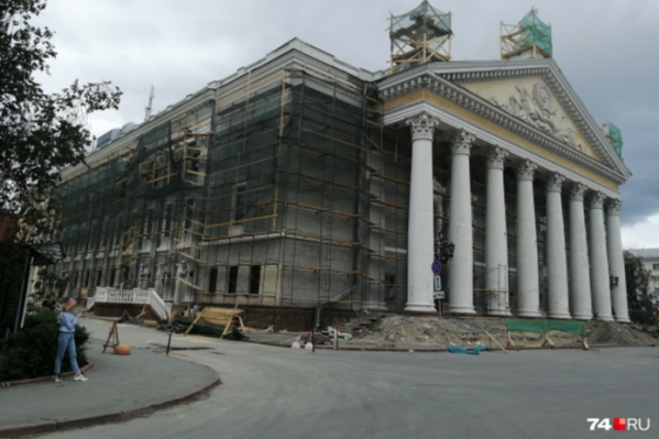 Летом в театре начался капитальный ремонт