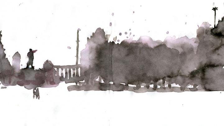 Курган нарисованный: 17 скетчей от зауральского художника
