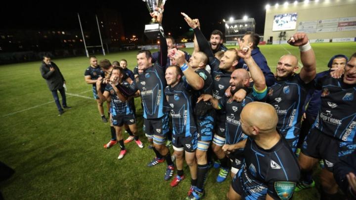 Красноярский клуб «Енисей СТМ» стал 9-кратным чемпионом России по регби