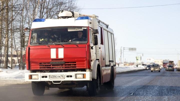 Дом вспыхнул, как спичка: в пожаре в Ярославской области сгорел мужчина