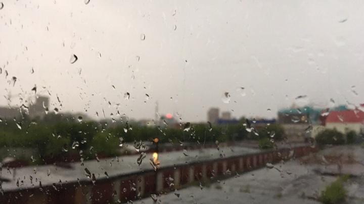 Ливень прекратился, гроза отступила: смотрим, как Тюмень пережила непогоду