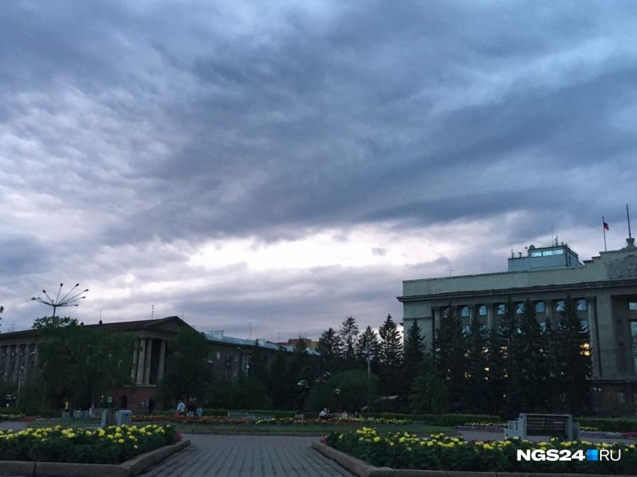 Навыходных вКрасноярск придет ощутимое похолодание