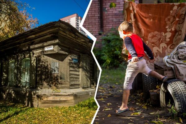 Многодетная семья всего несколько дней живет в скромном деревянном доме Янки Дягилевой