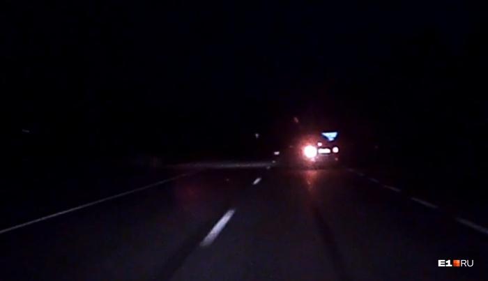 ДТП произошло ночью, в 02:27