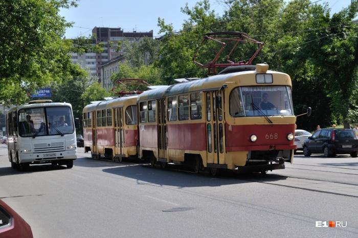 Движение трамваев изменится в это воскресенье