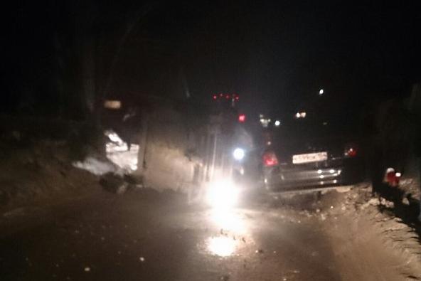 Авария случилась на Светлановской