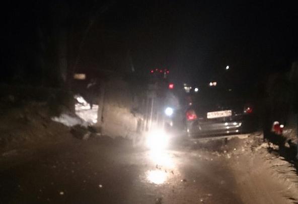 В ГИБДД рассказали о состоянии водителей после ДТП, в котором у машины оторвало крышу