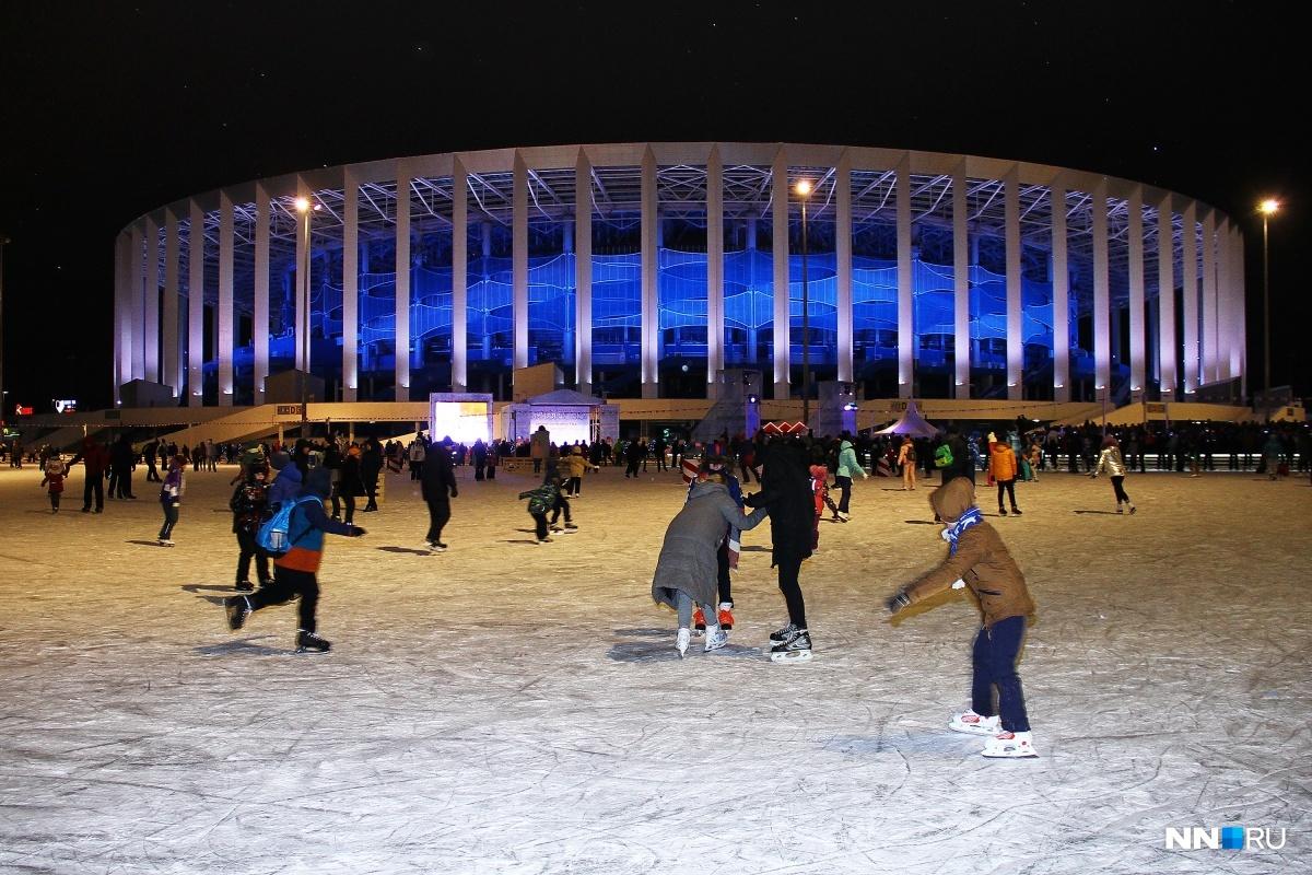 Зимняя сказка у стадиона начнется уже 15 декабря