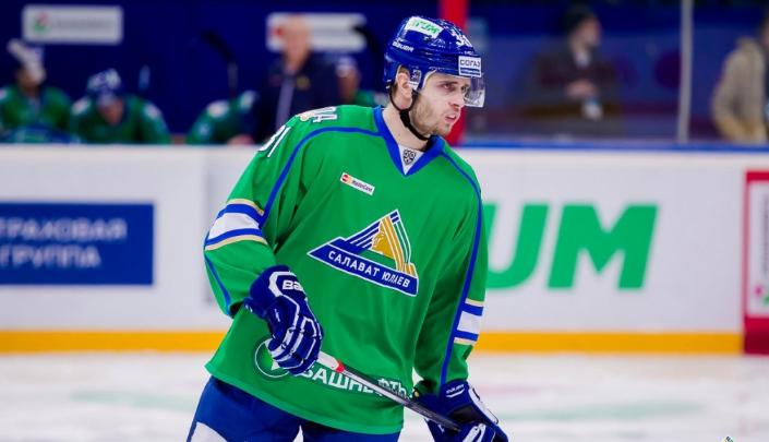 Степан Хрипунов остается в «Салавате Юлаеве»