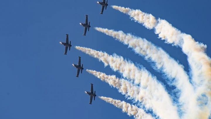 Военные самолеты нарисуют в небе над Верхней Пышмой сердце в День Победы