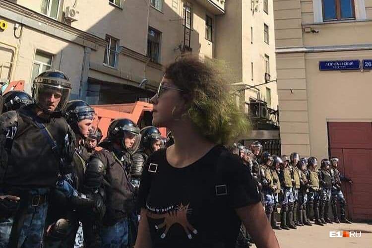 Аглаю Шатову судили за «неповиновение законному распоряжению сотрудника полиции»