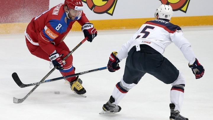 Сборная России пробилась в полуфинал чемпионата мира, обыграв в тяжелейшем матче США