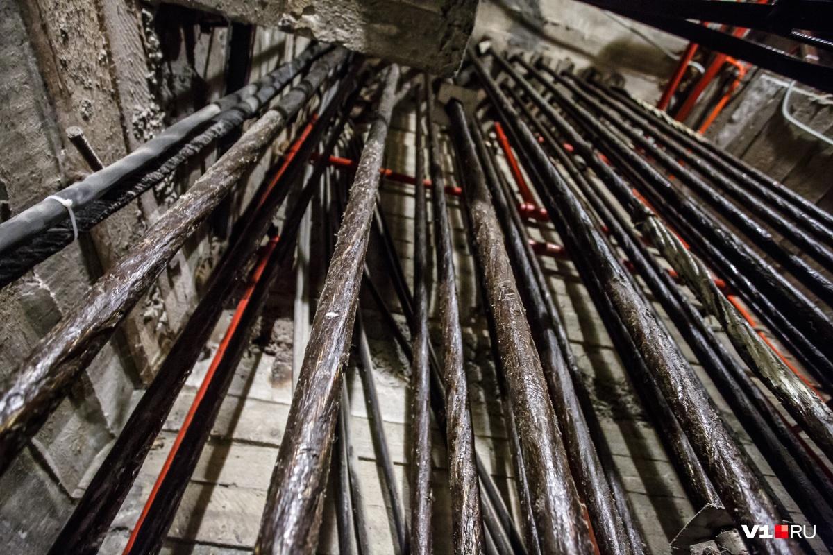 Два года назад в монумент вживили новые стальные «жилы»: строители заменили 99 канатов