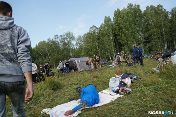 Трёхлетний Коля Бархатов потерялся вчера в лесув селе Новологиново Омской области