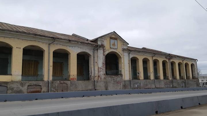 Сейчас выглядит удручающе: проект реставрации Гостиного двора в Кунгуре отправили на экспертизу