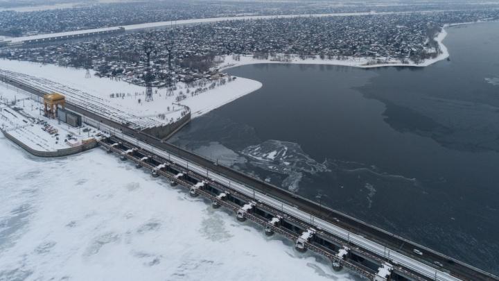 В ожидании большой воды: на Волжской ГЭС приготовились к весеннему наводнению