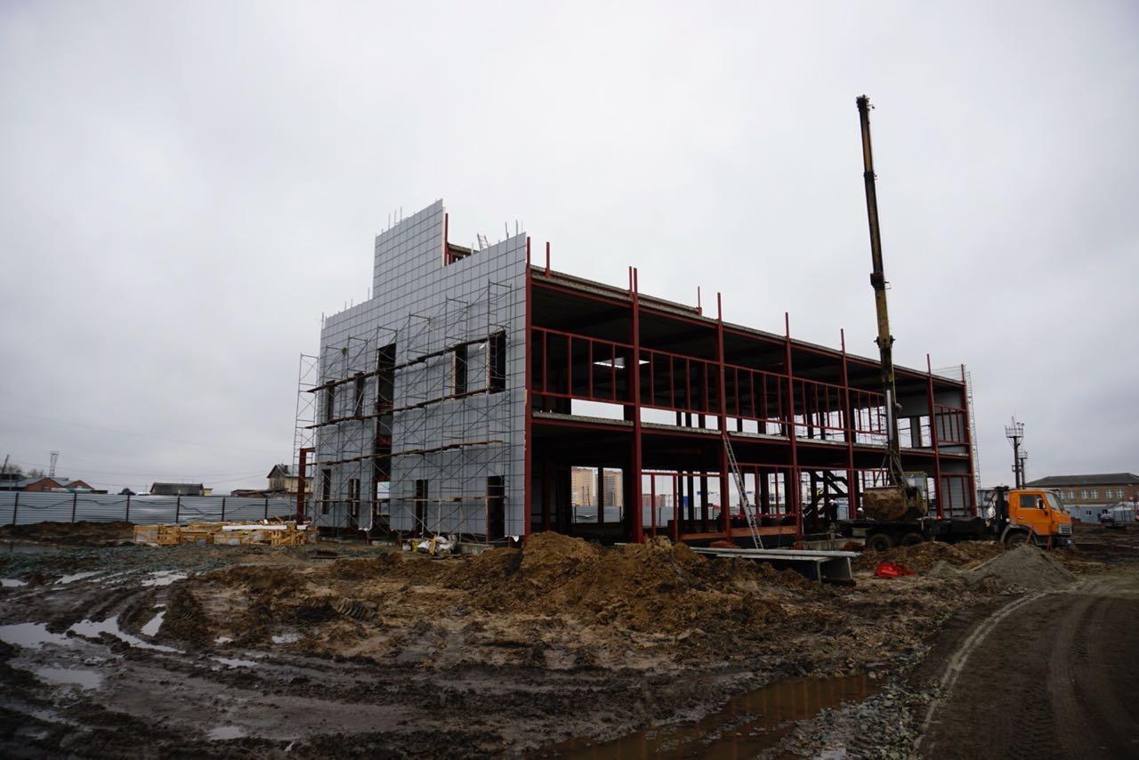 Зимой в здании начнётся ремонт