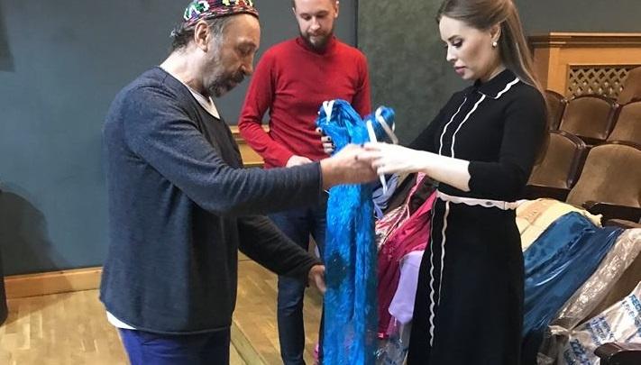 Николай Коляда раздел Юлю Михалкову: актриса отдала театру свои лучшие платья