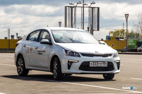 KIA Rio вошла в число самых продаваемых машин массового сегмента