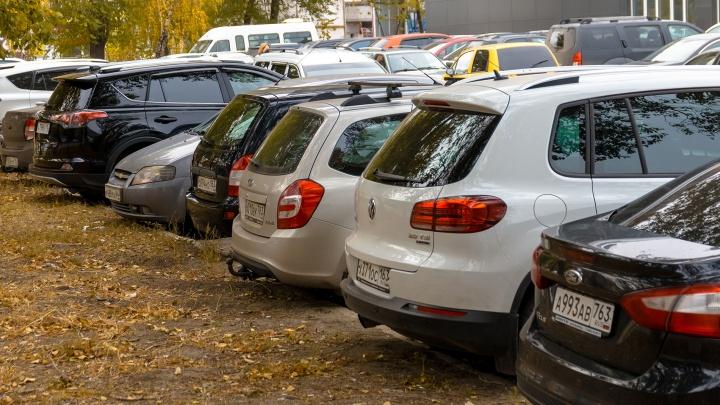 В Самаре решили возродить автостоянку около церкви на Тухачевского