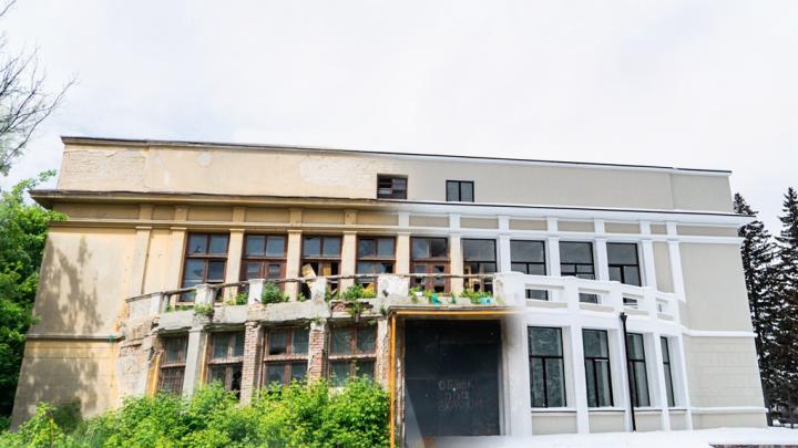 Было-стало: сравниваем фотографии заброшенной библиотеки ОмГАУ до реконструкции и после неё