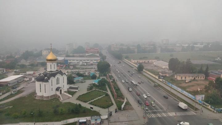 В Новосибирске снова ухудшилась атмосфера: воздух стал опасен