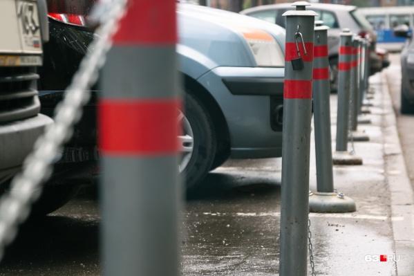 Платные парковки в Самаре появятся не раньше 2020 года