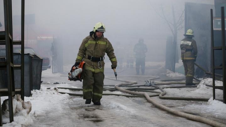 Вспыхнувшая стиральная машина в Башкирии спалила квартиру