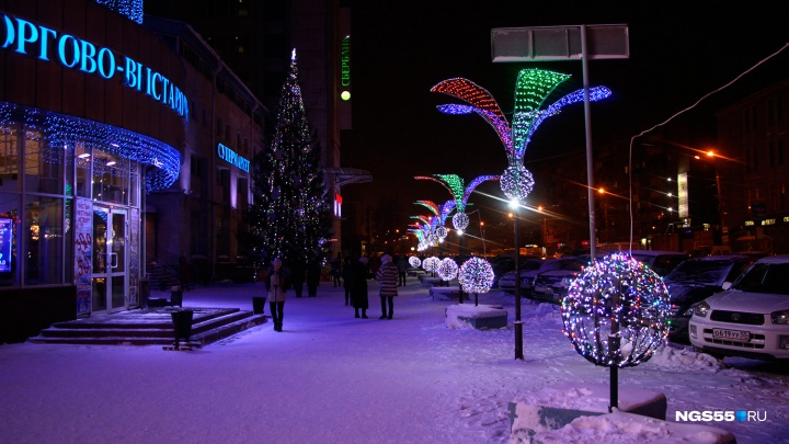 К Новому году в Омск снова вернётся символ «ОК»