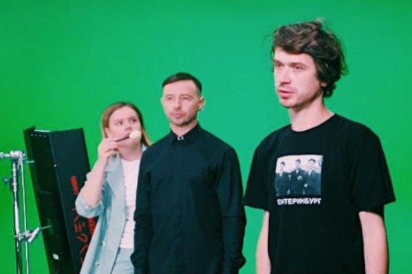 Режиссер Иван Соснин (справа) рассказал, что клип будут снимать в Москве и Екатеринбурге