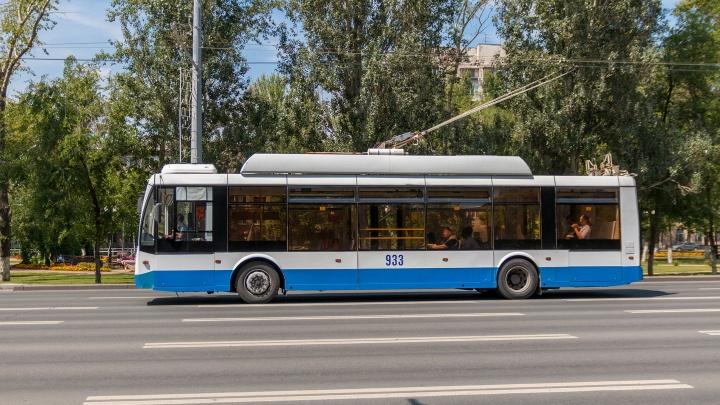 На Московском шоссе возобновили движение троллейбусов