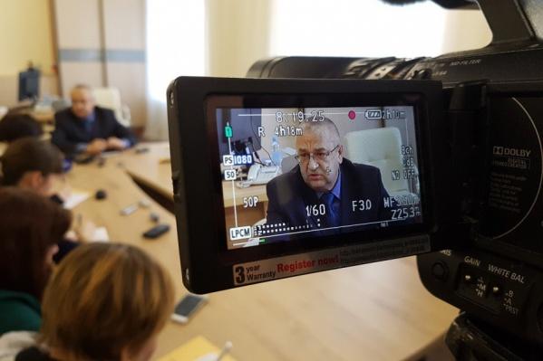 Герман Хмелёв вступил в должность в апреле этого года