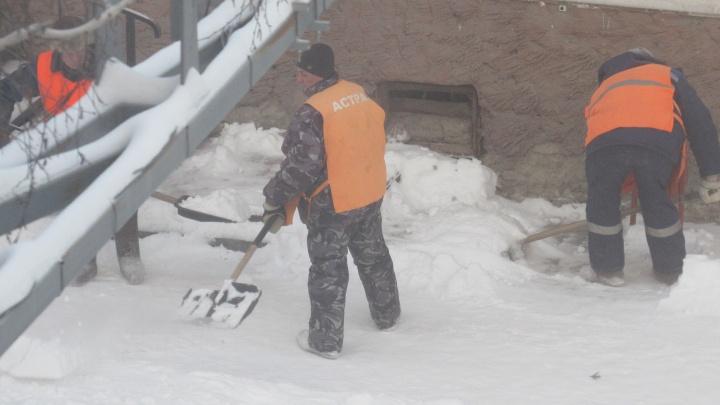 Вывезли 2360 тонн снега: Курган прибирают после непогоды