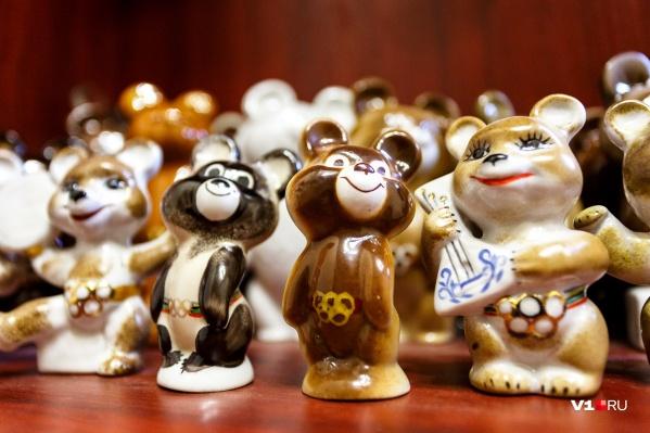 Эксклюзивного мишку продают за четыреста тысяч рублей