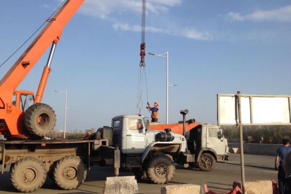 Сейчас идет второй этап реконструкции набережной Уфы