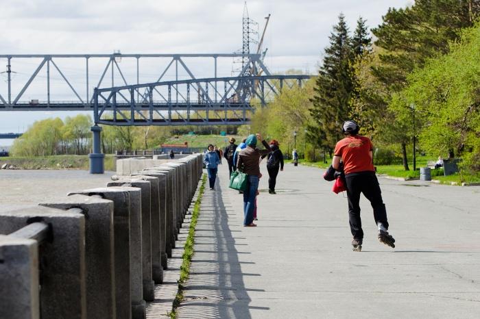 Променадная зона набережной будет закрыта после Дня города