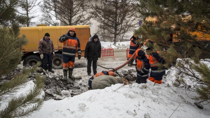 Прокуратура заинтересовалась коммунальной аварией на Северо-Чемском жилмассиве