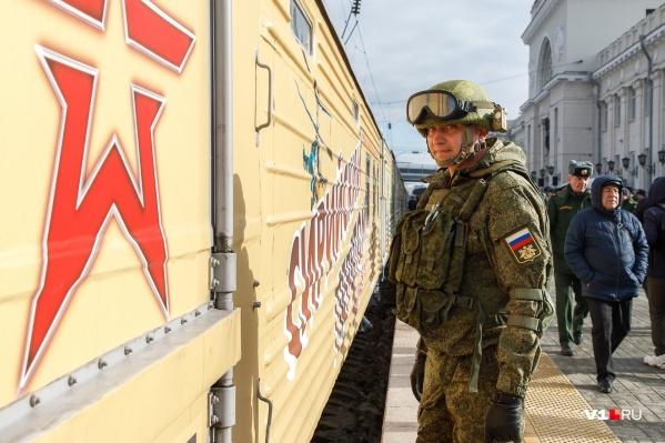 Военные простояли на вокзале Волгограда всего два часа