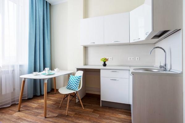 Первый апарт-отель сдался в Красноярске в августе 2018 года